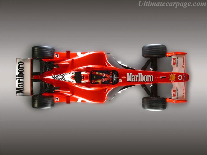 F2003 GA voiture Ferrari